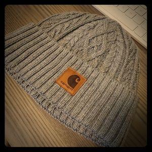 Gray Carhartt knitted hat/beanie